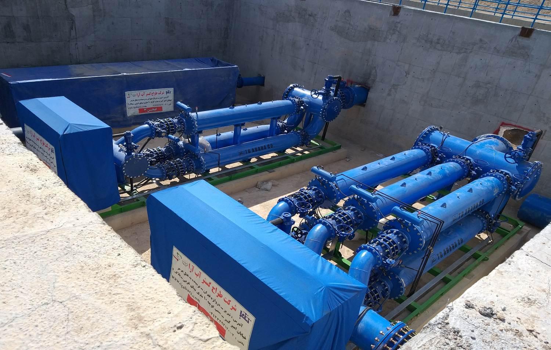 ایستگاه پمپاژ و آبیاری سد شهید قنبری ماکو