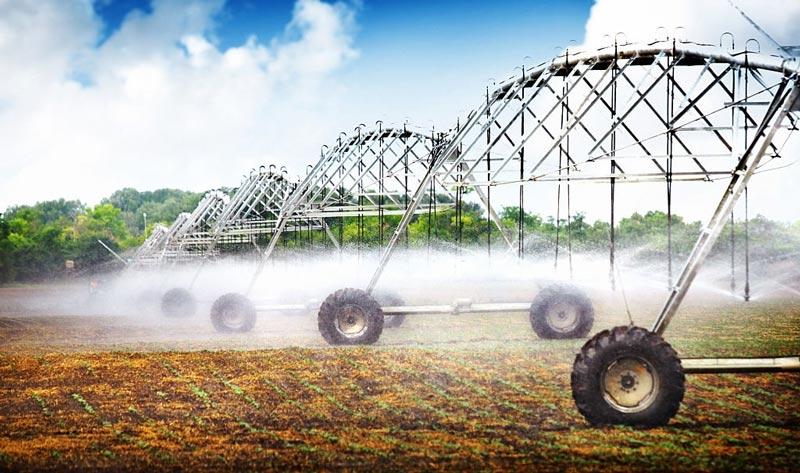 روش های نوین آبیاری بارانی با ماشین آبیاری قرقره ای
